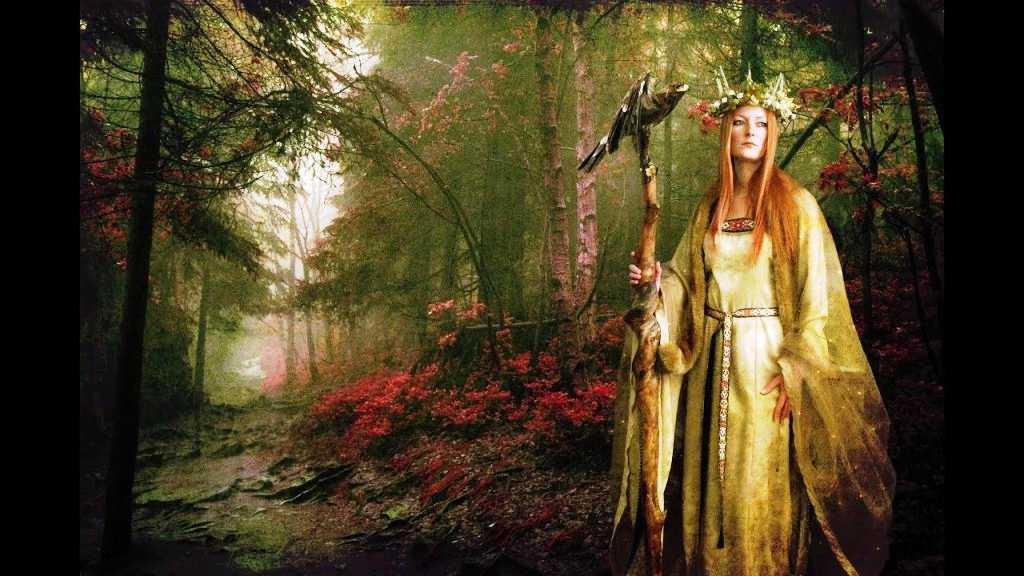 Кельтская магия. Обряды омелы и жертвоприношения