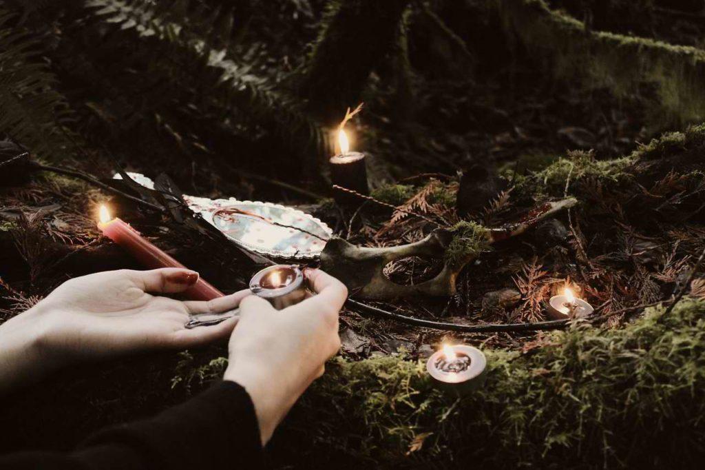 Викканские традиции. Обряд новолуния