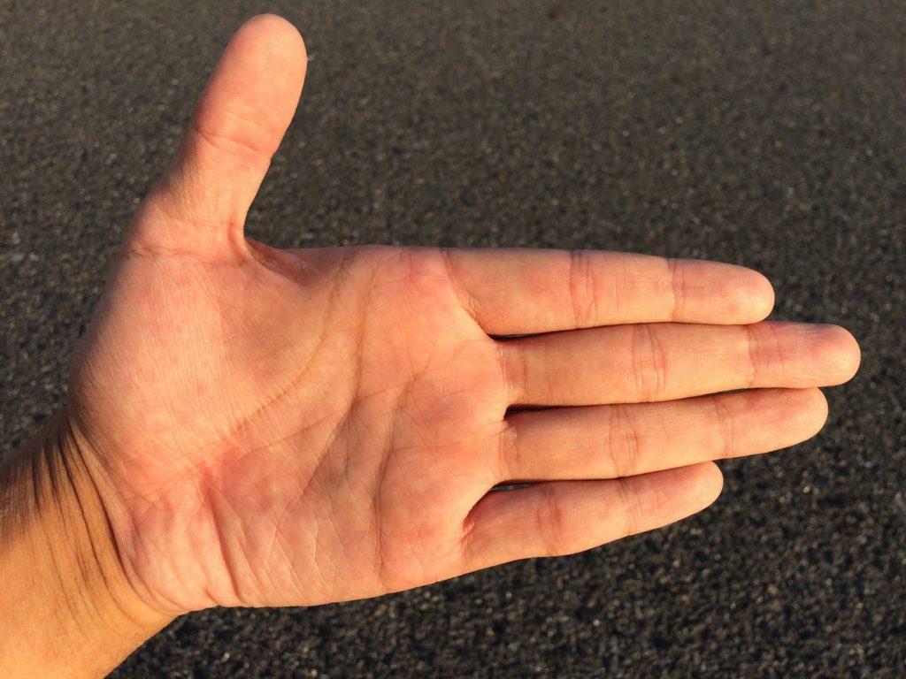Хиромантия левая рука